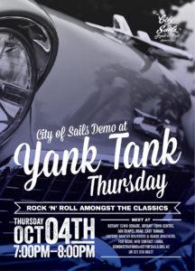 Yank Tank Thursday 2018 October