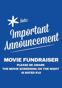 Junior Movie Fundraiser